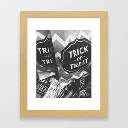 Trick or Treat Framed Art Print