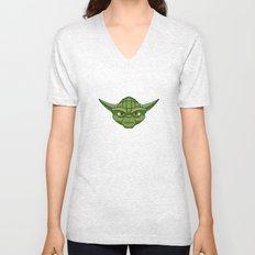 #47 Yoda Unisex V-Neck