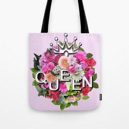 Queen Floral Bouquet Tote Bag