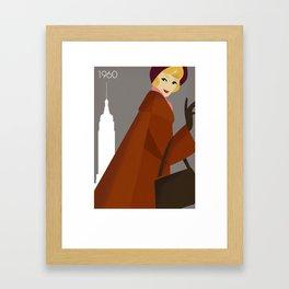 New York 1960 Framed Art Print