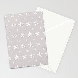 Stella Polaris Light Grey Design Stationery Cards