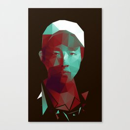 Glenn - The Walking Dead Canvas Print