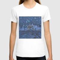 las vegas T-shirts featuring las vegas by Bekim ART
