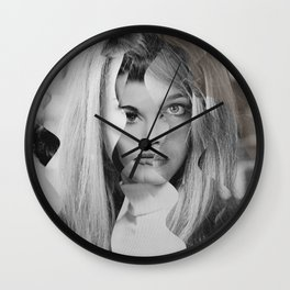 Another Portrait Disaster · JF Wall Clock