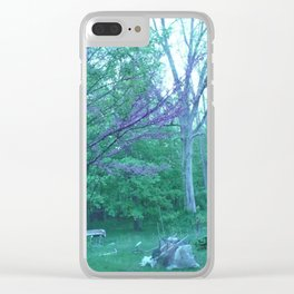 the beauty in nature which comes when your not counting on it (1) #100 Clear iPhone Case