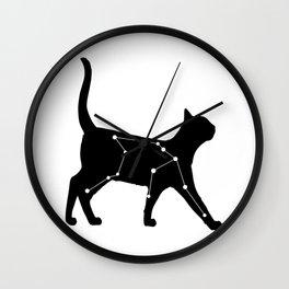 Aquarius Cat Wall Clock