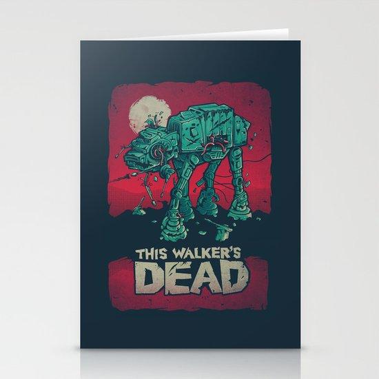 Walker's Dead V2 Stationery Cards