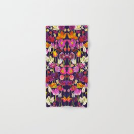 Pink and Orange Tulips Hand & Bath Towel