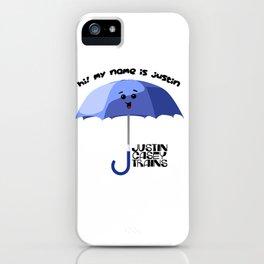 justin casey iPhone Case