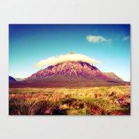 scotland Canvas Prints featuring Buachaille Etive Mòr, scotland. by zenitt
