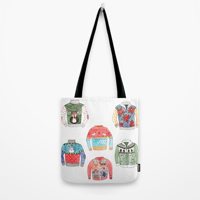 Ugly Sweaters Tote Bag
