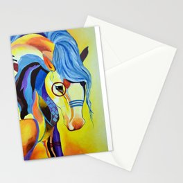 Native American Horse Stationery Cards
