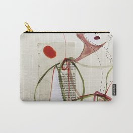 Sepia Girl Carry-All Pouch