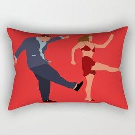 I'll never tell Rectangular Pillow