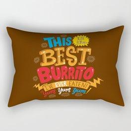 Best Burrito Rectangular Pillow