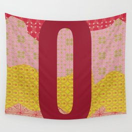 The Orderly Letter O Wall Tapestry
