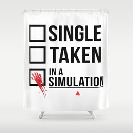 Relationship Status - Person of interest - Sameen Shaw Shower Curtain