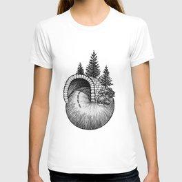 Spiral Up The Mountain T-shirt