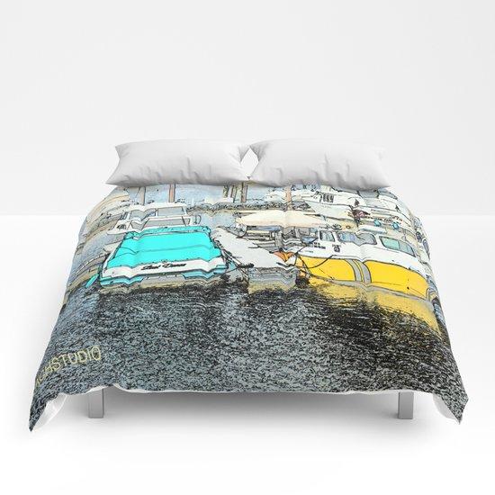 The Boat Dance Comforters