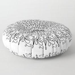 Spring mandala Floor Pillow