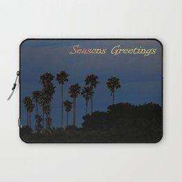 Seasons Greetings Laptop Sleeve