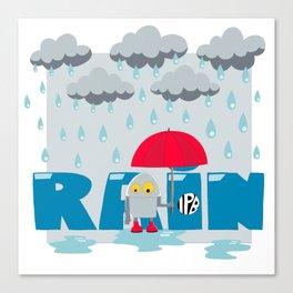Rain! Canvas Print