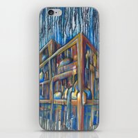 building iPhone & iPod Skins featuring building by the art of dang