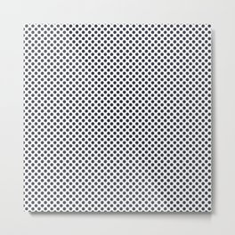 Total Eclipse Polka Dots Metal Print