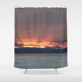 Cape Sounio 2 Shower Curtain