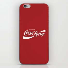 High Fructose Corn Syrup iPhone Skin