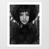 angel Art Prints featuring ANGEL by Giulio Rossi