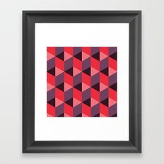 Queen of Hearts [isometrix 013] Framed Art Print