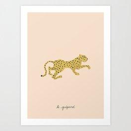 le guépard Art Print