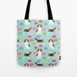 Beagle donuts cute gifts for pure breed dog lover beagles owners Tote Bag