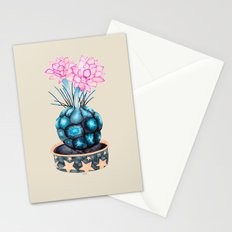 succulent flower Stationery Cards