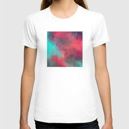 Passionate Firestorm Abstract Painting T-shirt