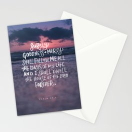 Goodness & Mercy Stationery Cards