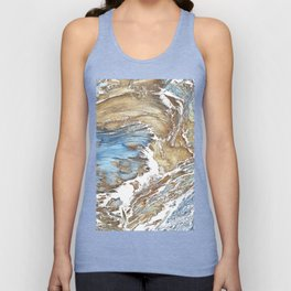 Woody Silver Unisex Tank Top