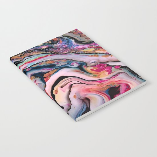 Colorful Fantasy Abstraction Notebook