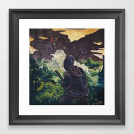 Witch Hunter Framed Art Print