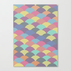 Circles Abstract 3 Canvas Print