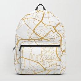 BIRMINGHAM ENGLAND CITY STREET MAP ART Backpack