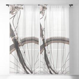 Bicycle No. 1 Sheer Curtain