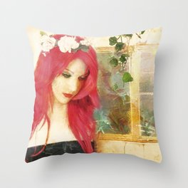 Glint - Outside Looking Out Throw Pillow