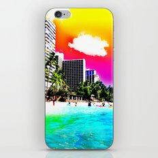 Waikiki Beach Part II iPhone Skin