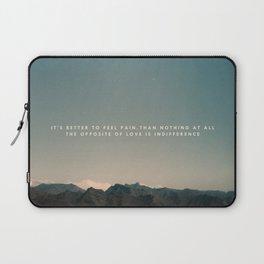 Stubborn Love Laptop Sleeve