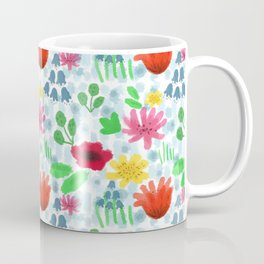 Campo fiorito acquarellato Coffee Mug