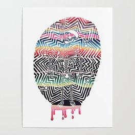 Chill Skeleton Poster
