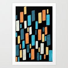 Tile Art Print