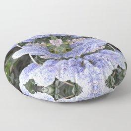 Purple Puffs Floor Pillow
